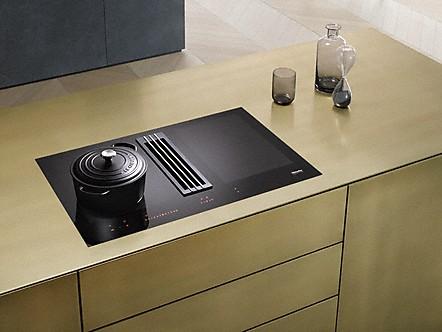 miele piani cottura a induzione con cappa integrata. Black Bedroom Furniture Sets. Home Design Ideas