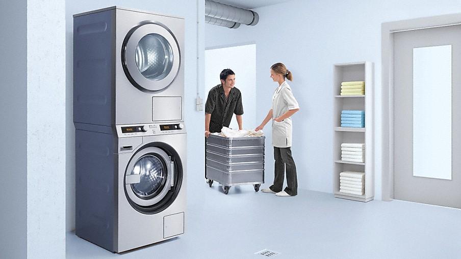 Miele Colonne lavatrice asciugatrice Miele Professional