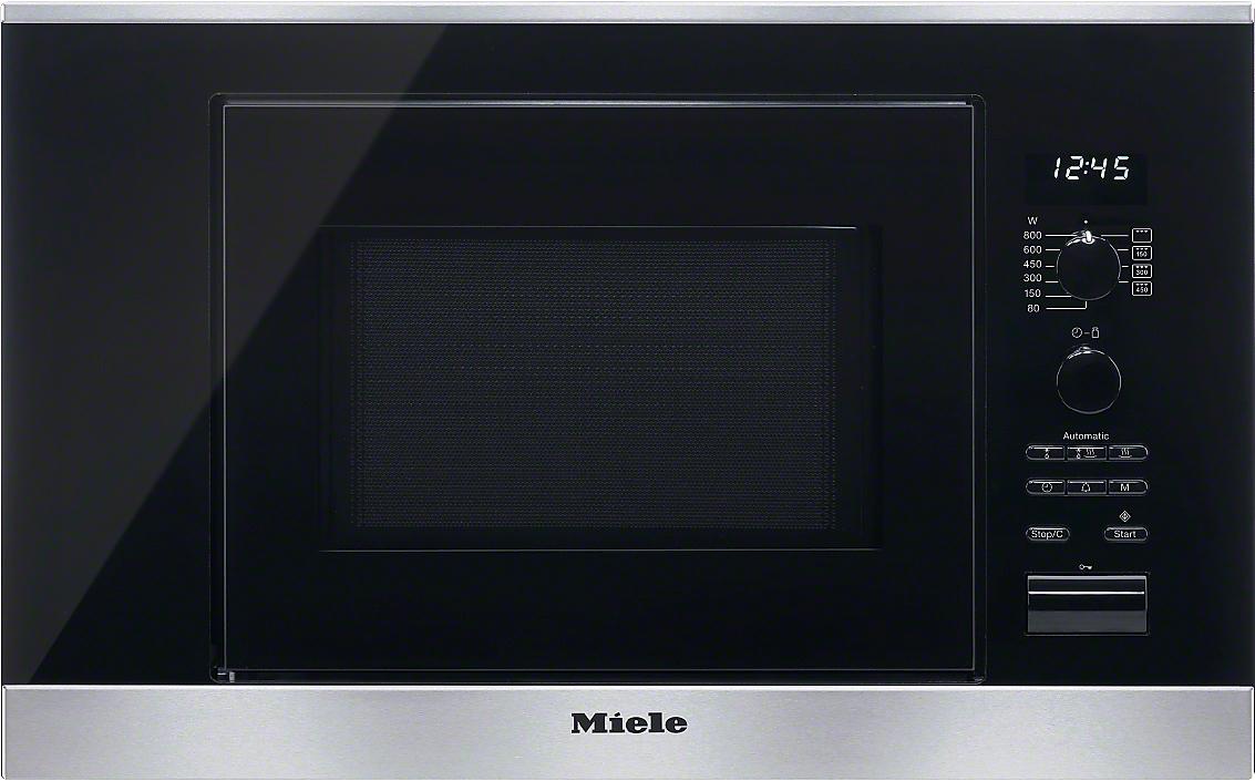 Miele m 6032 sc forno a microonde da incasso - Forno a microonde a incasso ...