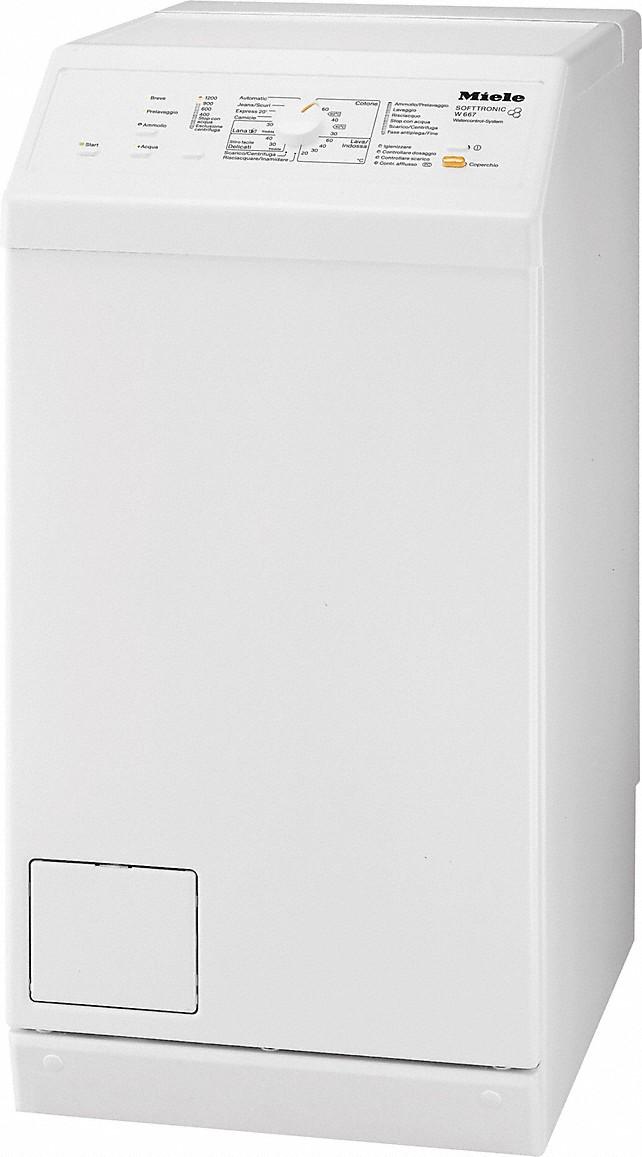 Miele lavatrici w 667 lavatrice a carica dall 39 alto for Lavatrice con carica dall alto