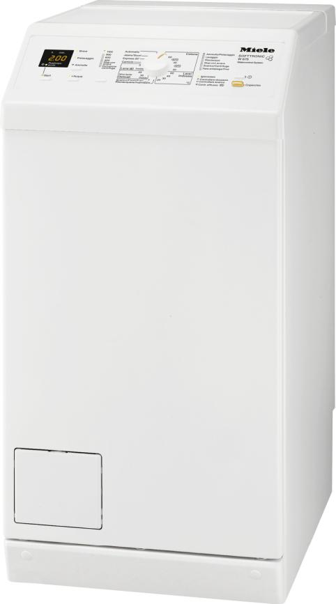 Miele lavatrici w 675 lavatrice a carica dall 39 alto for Lavatrice con carica dall alto